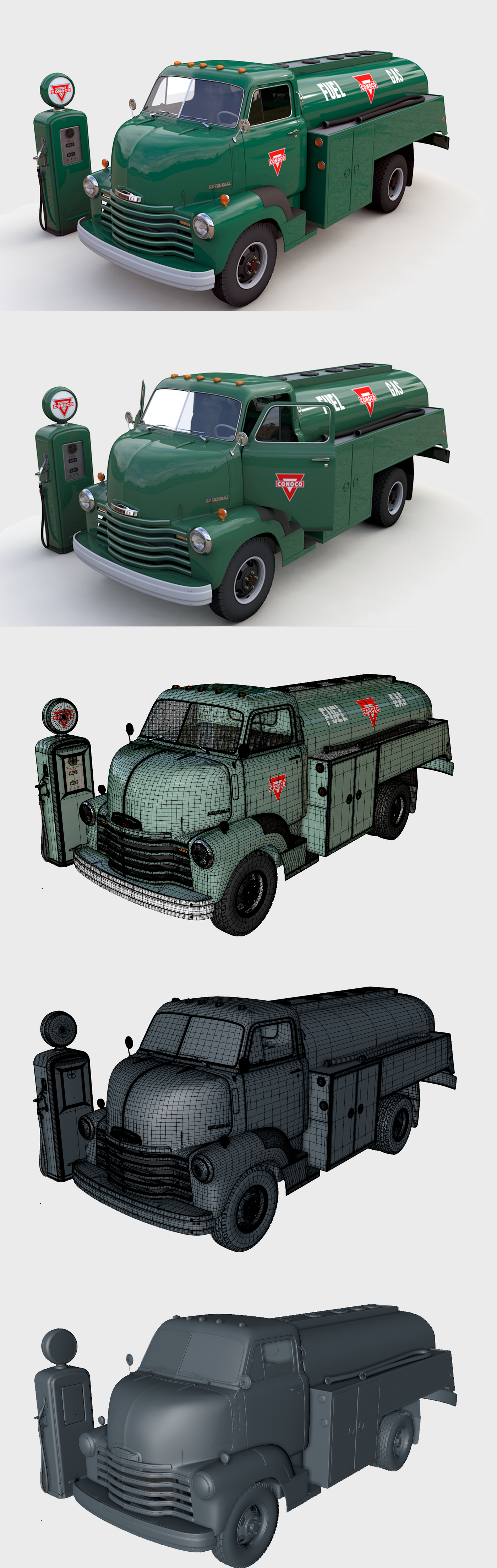 CHEVY 6400 FUEL TRUCK 1949