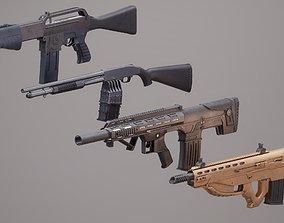 3D model Shotgun Set 1