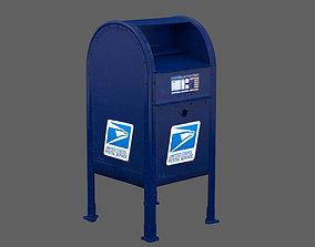 NewYork mailbox 3D
