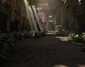 Sacred Tree Scene 3D model