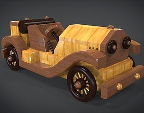 3D asset Roaring 20s Toy Sports Car