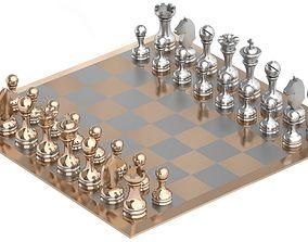 Chess 3D model chess