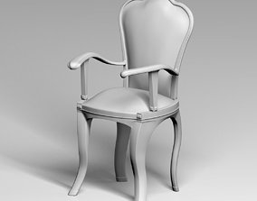 3D printable model Classic armchair