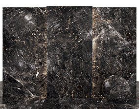 Africa Nero Marble 3D asset