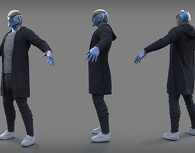 Mech character 3D