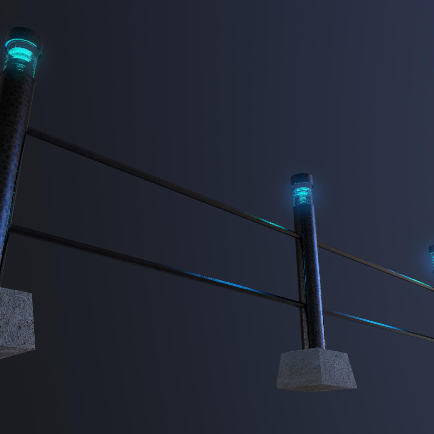 garden and street lights