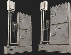 3D model Fuseboxes 01 PBR