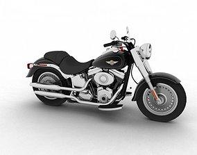 Harley-Davidson FLSTF Fat Boy 2012 3D