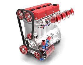 Race Engine 2000 3D model