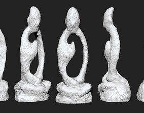 sit in meditation 3D print model
