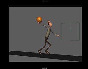 Posing 3D Models In Autodesk Maya animated