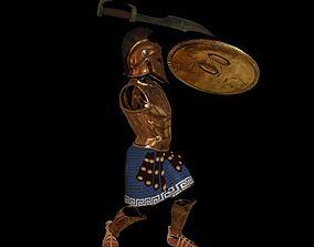 3D model spartan armor all