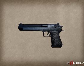 AAA FPS Desert Eagle Pistol 3D model