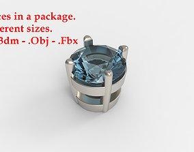 Jewelry Prong 3D print model 3