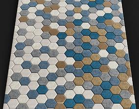 Kaleidoscope rug Boconcept 3D model