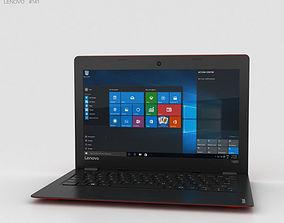 3D notebook Lenovo Ideapad 100S Red