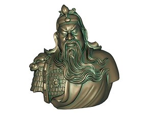 3D print model 3D asset realtime Guan Gong