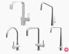3D model Fixtures - Kitchen Bathroom Faucet Pack C