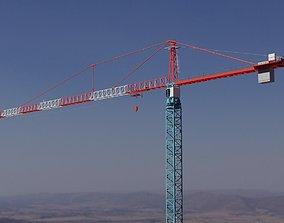 Hammerhead Tower Crane 5 - Big Construction Crane 3D