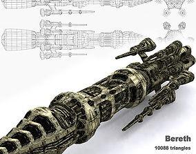 3DRT - Sci-Fi Norad Battleship - Bereth game-ready
