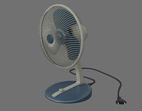3D asset Table Fan 1B