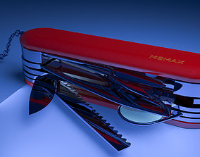 modern 3D model Swiss Army Knife