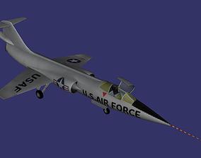 Lockheed NF-104A 3D model