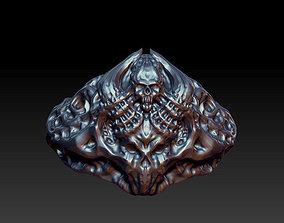 mold Skull ring 3D print model