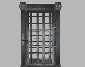 Game cage 3D model