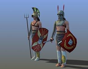 Gladiators x2 3D model