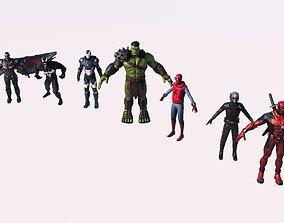 marvel Marvel 3d print model