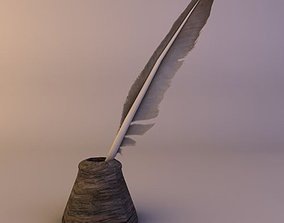 Ink feather 3D