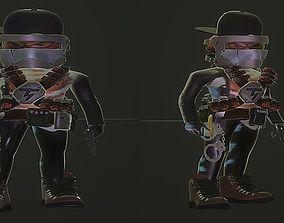 3D model Gangster