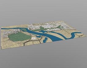 Washington DC Cityscape 3D model