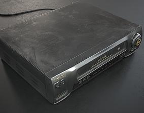 3D asset Video Player VCR VHS