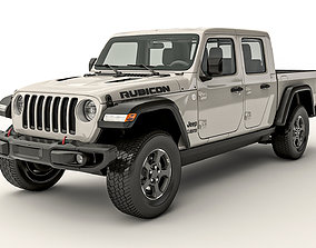 pick-up Jeep Gladiator Rubicon 2020 3D