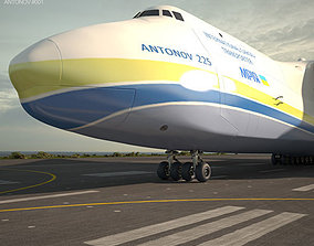 3D model Antonov An-225 Mriya