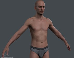 Male Body 2 - Realtime 3D asset low-poly