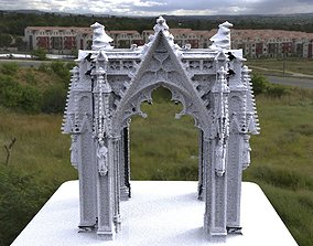 Victorian architecture Cathedral archway gothic tall