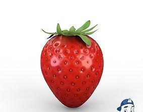 3D PBR Strawberry