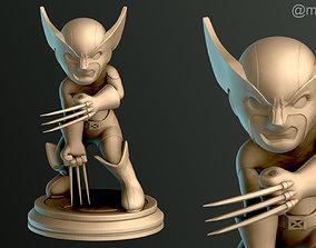 3D printable model SIMPLE - Brown Wolverine
