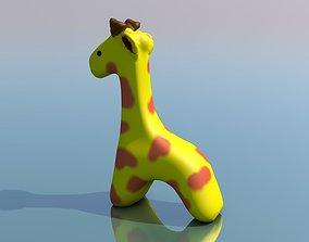 Cute Giraffe Toy 3D printable model