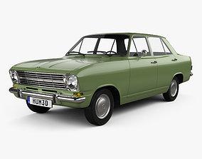 3D model Opel Kadett 4-door sedan 1965