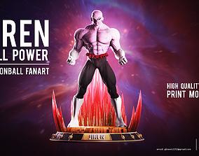 jiren full power Dragon ball Fan art high 3D print model