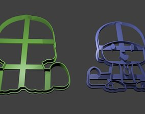 Pocoyo Cookie Cutter 3D print model