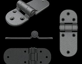 3D asset Door hinge 1
