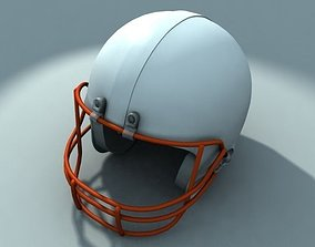 sports American football helmet 3D