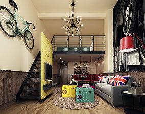 Modern apartment 3D other