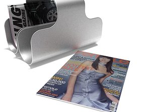 3D Home Magazine Holder