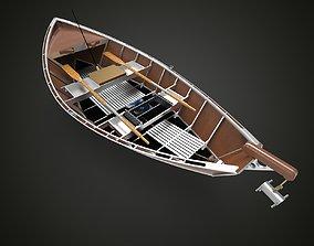 Canoe 2 3D model
